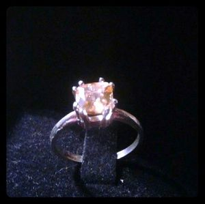 a79ba29566e5e0 Jewelry - Natural Golden Beryl 925SS Engagement Ring